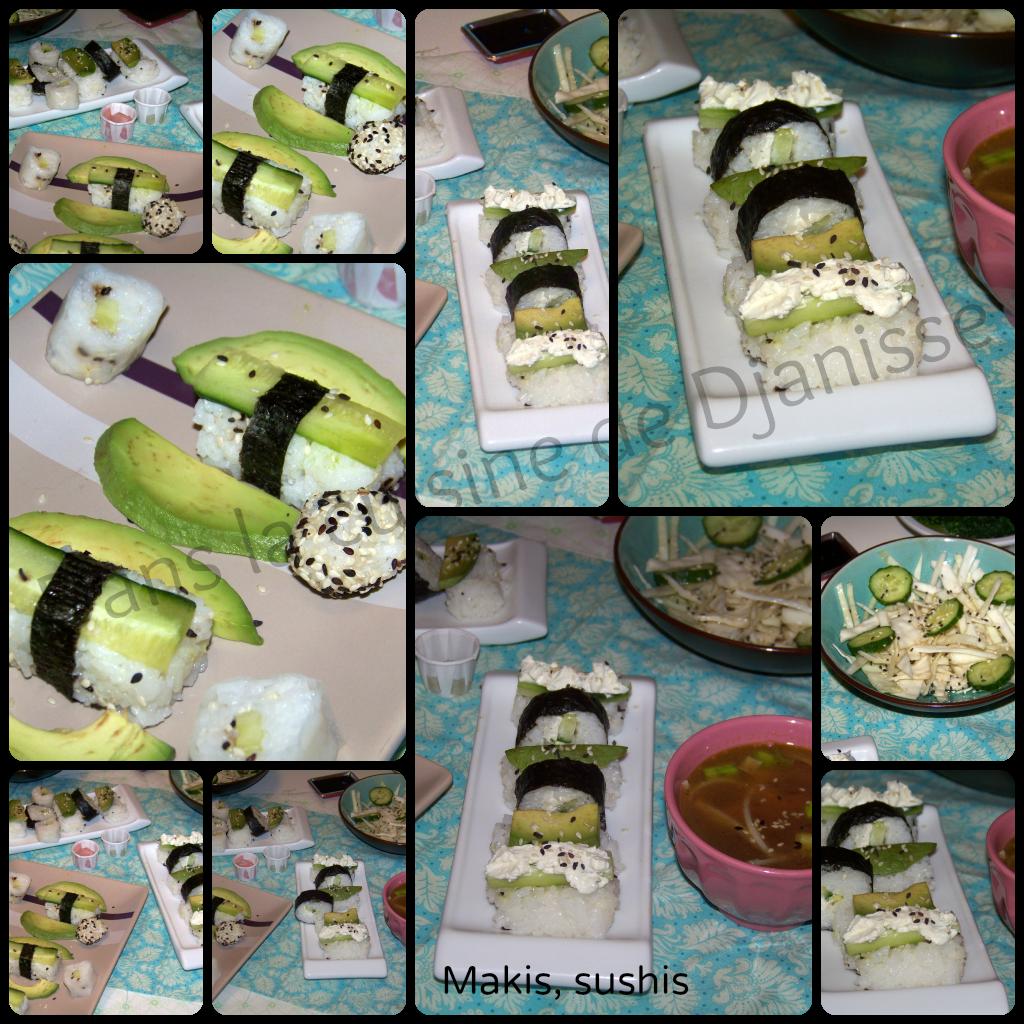 sushis maki vegan