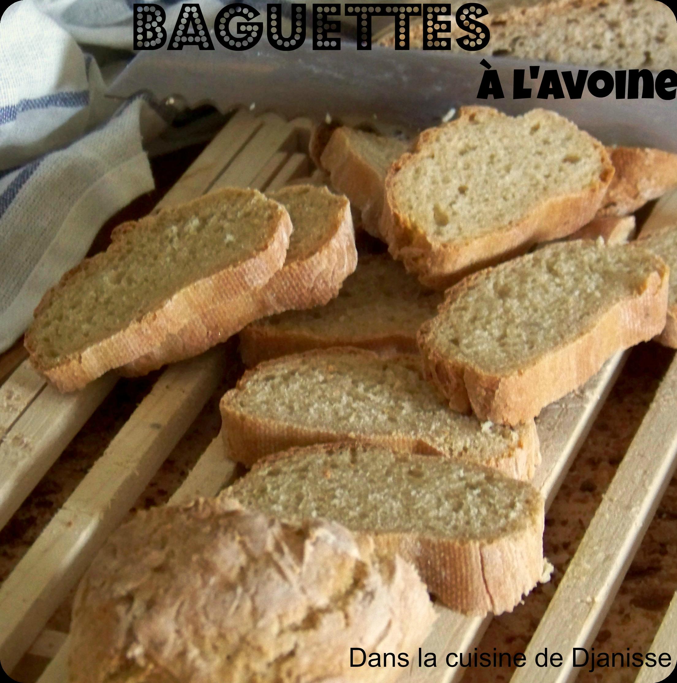 Baguettes à l'avoine
