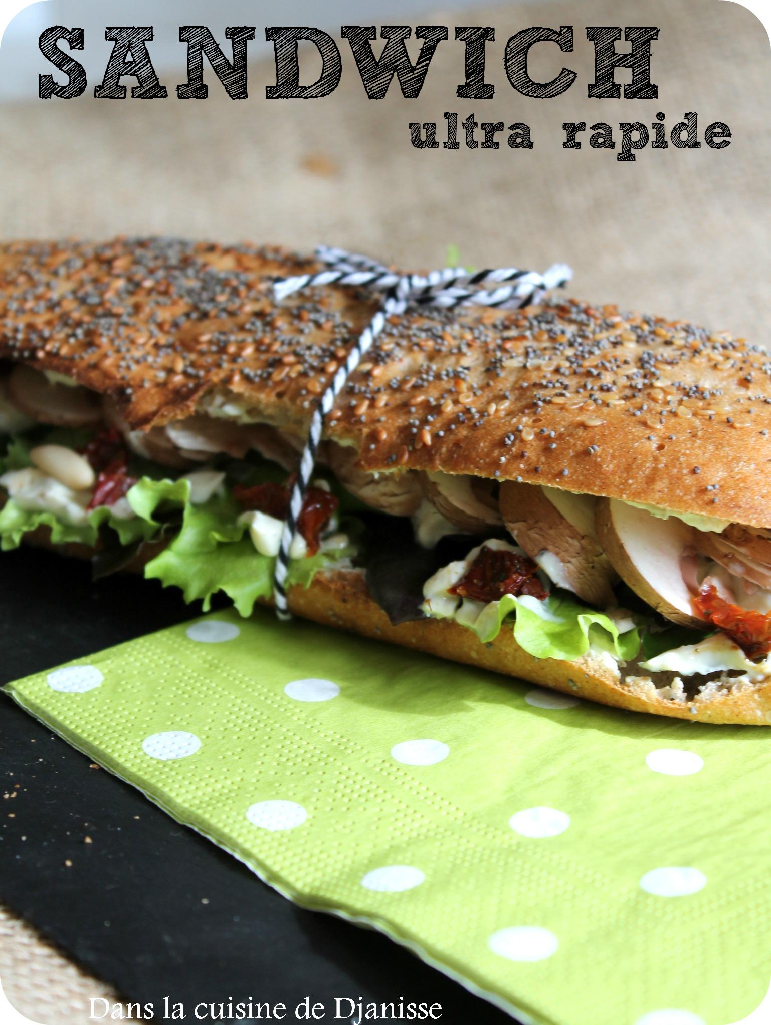 Sandwich ulta rapide