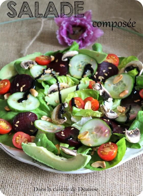 Salade compos e du printemps recette v g talienne - Salade verte composee ...