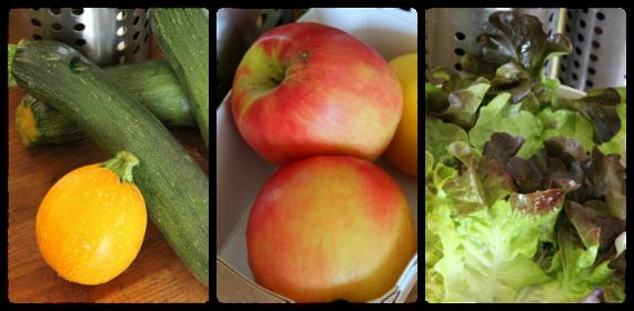 Fruits et légumes à conserver au frigo
