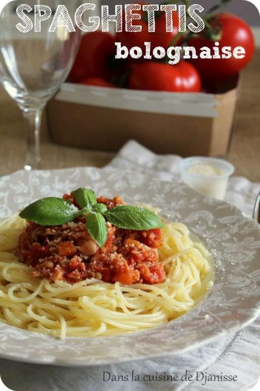 Spaghetti Bolognaise Vegan et sans gluten