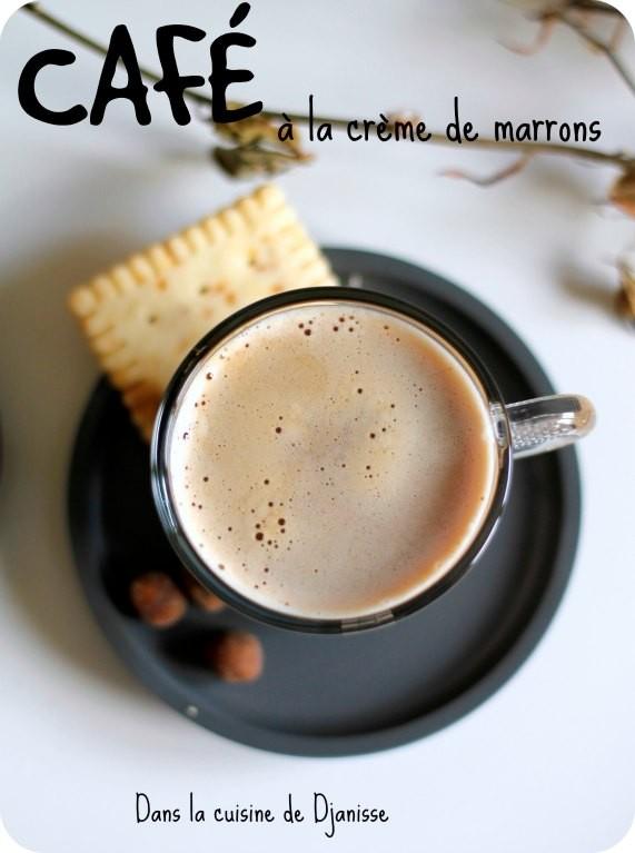 Café à la crème de marrons (vegan et sans gluten)