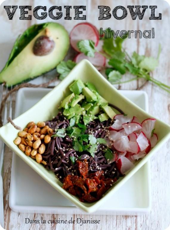 Vegan veggie bowl