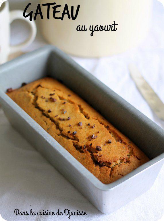Gâteau au yaourt vegan et sans gluten