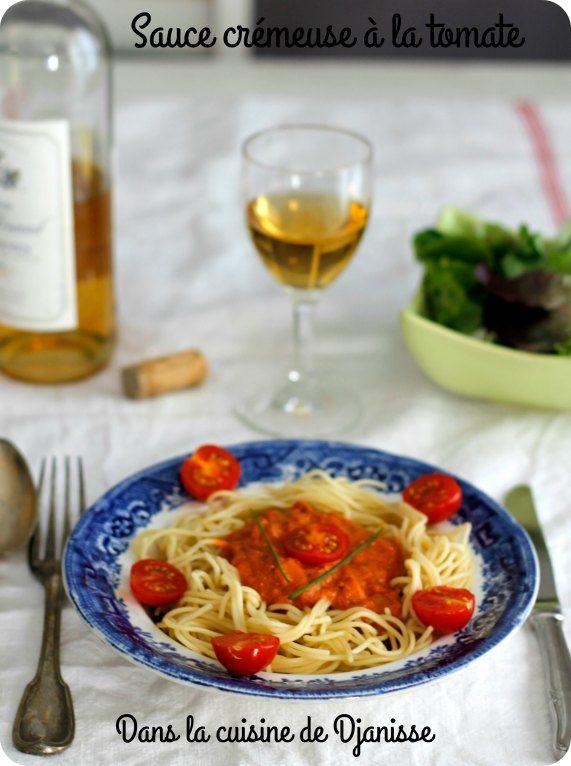 Sauce crémeuse à la tomate - VEgan