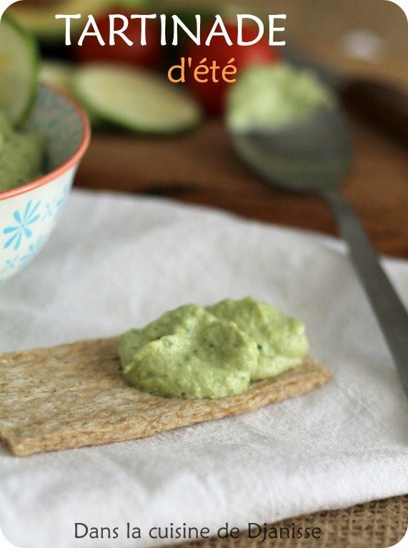 Tartinade crue de courgettes vegan sans gluten