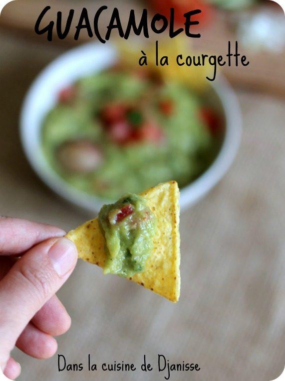 Vegan recipe : zucchini guacamole (gluten free)