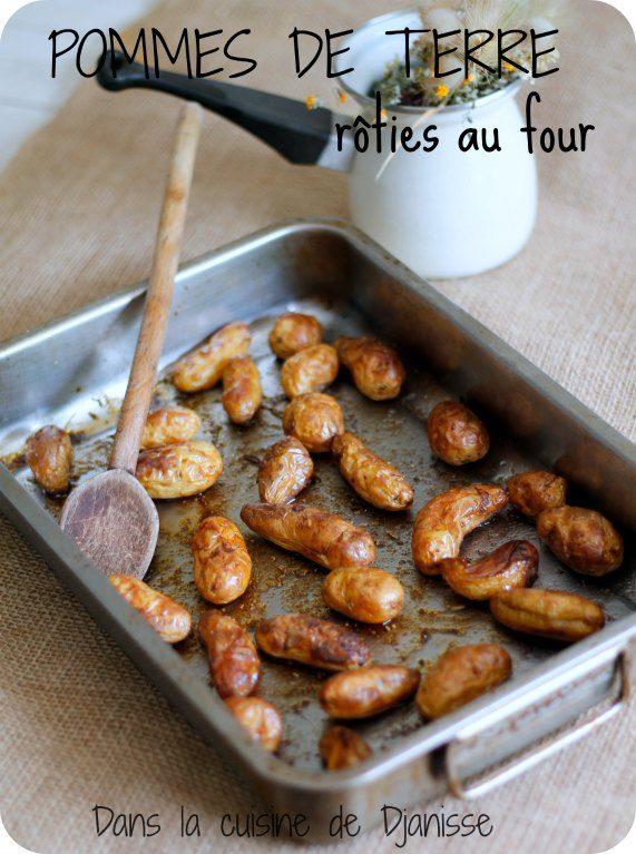 Pmmes de terre nouvelles rôties au four (vegan et sans gluten)