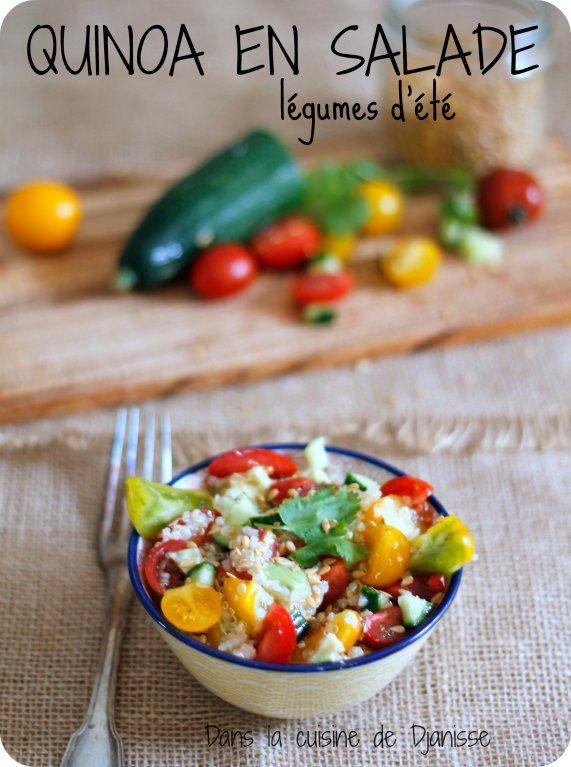 Vegan recipe : quinoa salad