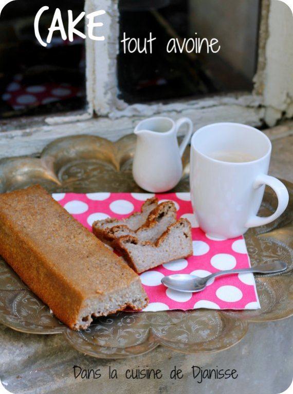 Cake à l'okara d'avoine