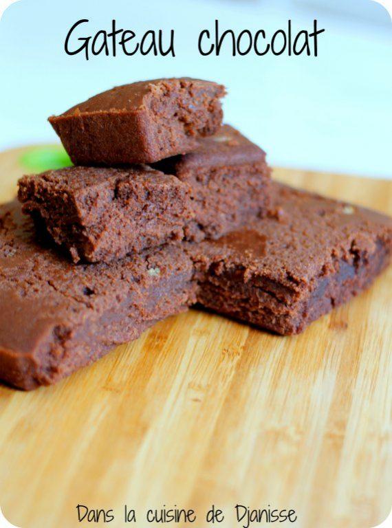 Gâteau au chocolat vegan et sans gluten
