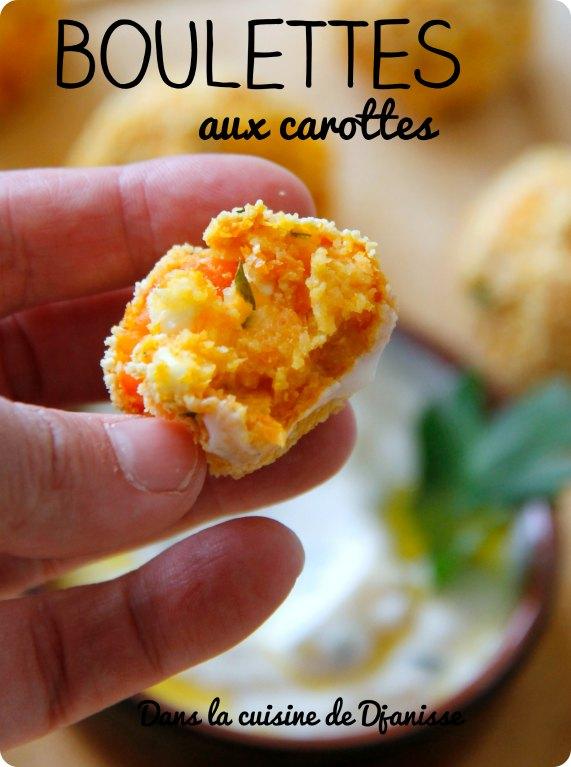 Boulettes de carottes véganes au Thermomix (réalisables sans)