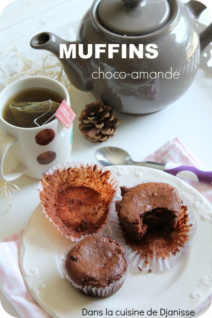 Muffins chocolat & amande