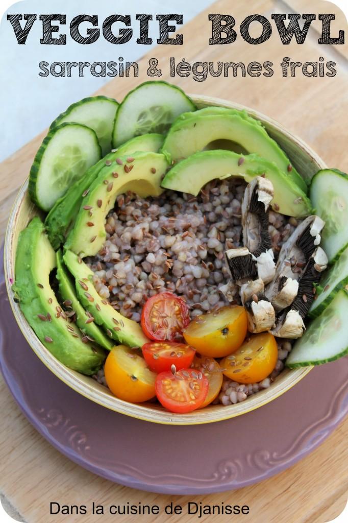 Veggie Bowl de sarrasin