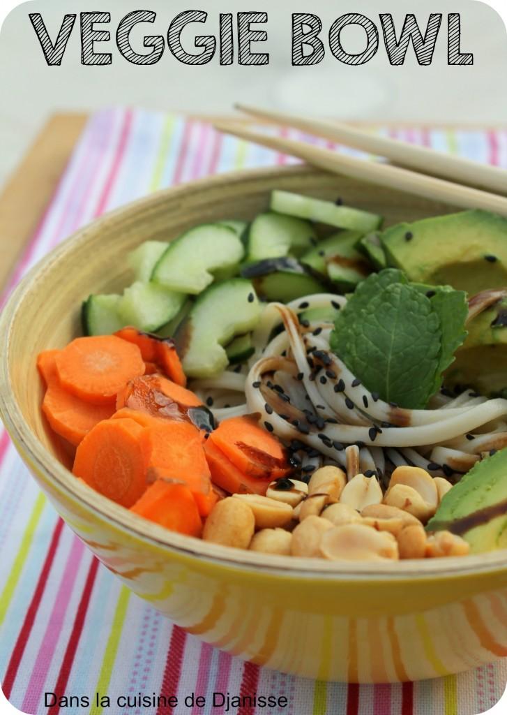Udon en veggie bowl