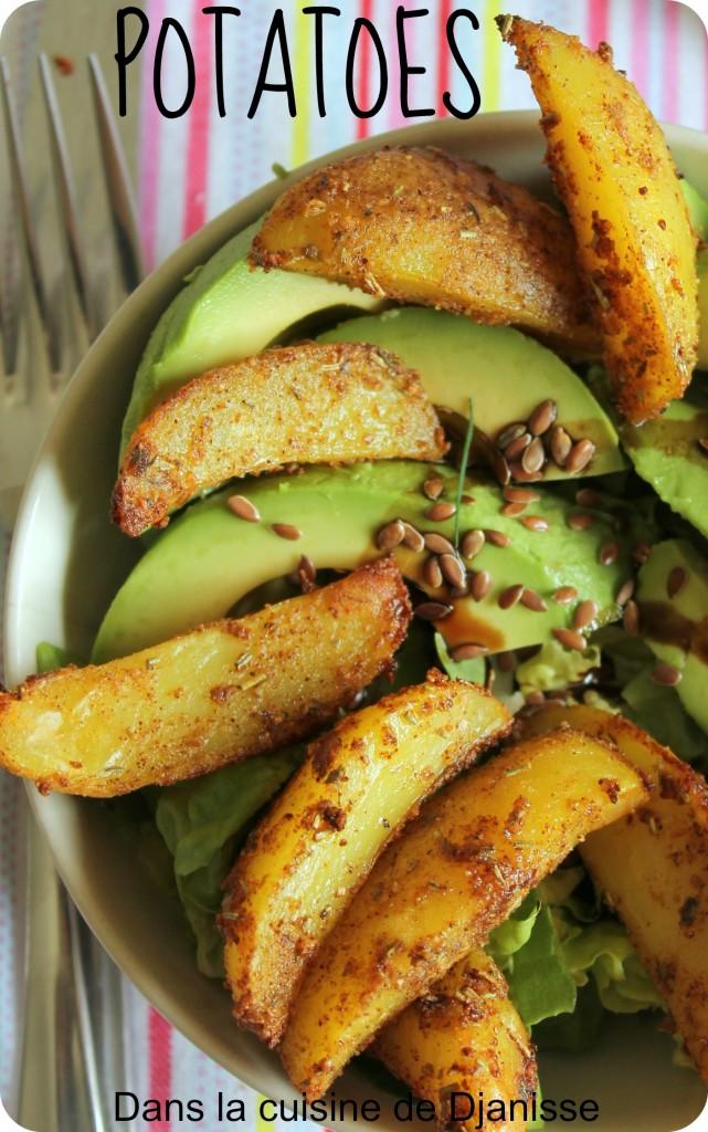 potatoes veggie bowl
