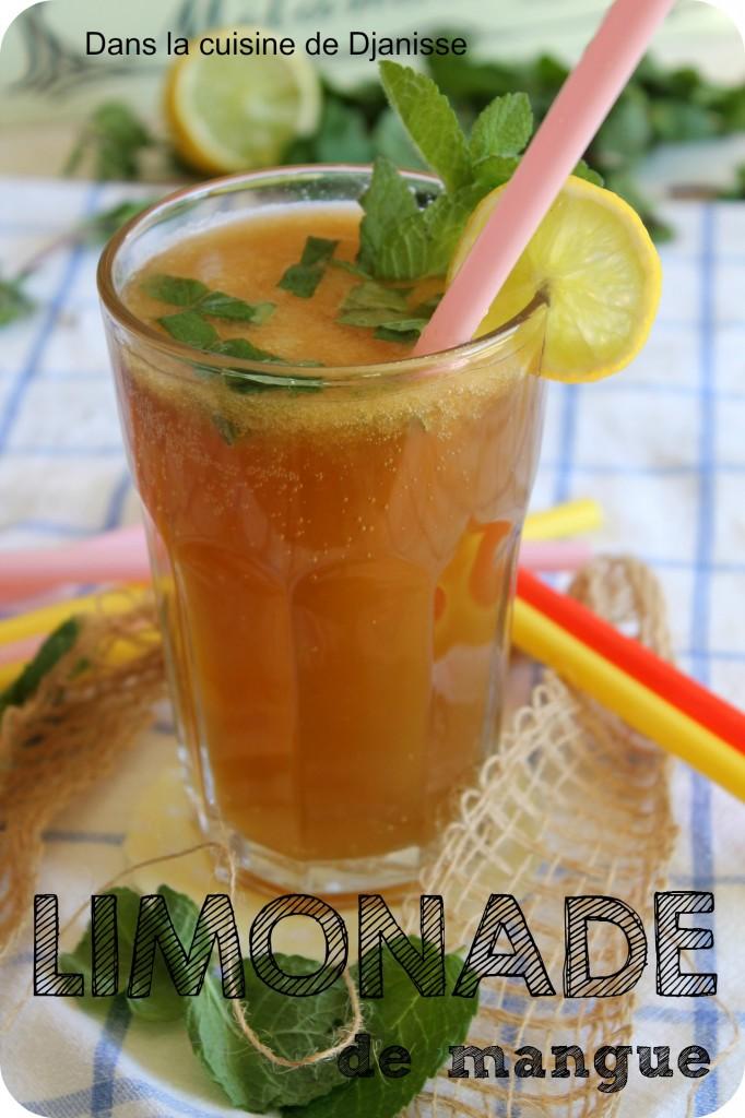 Limonade à la mangue