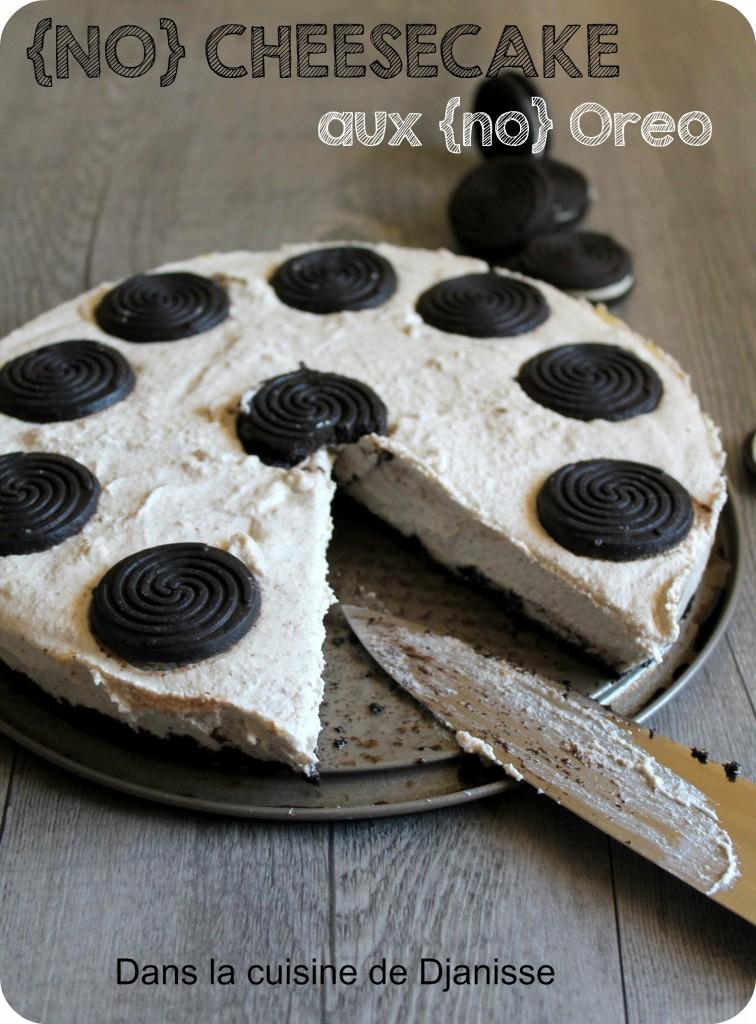 No cheesecake au oreos
