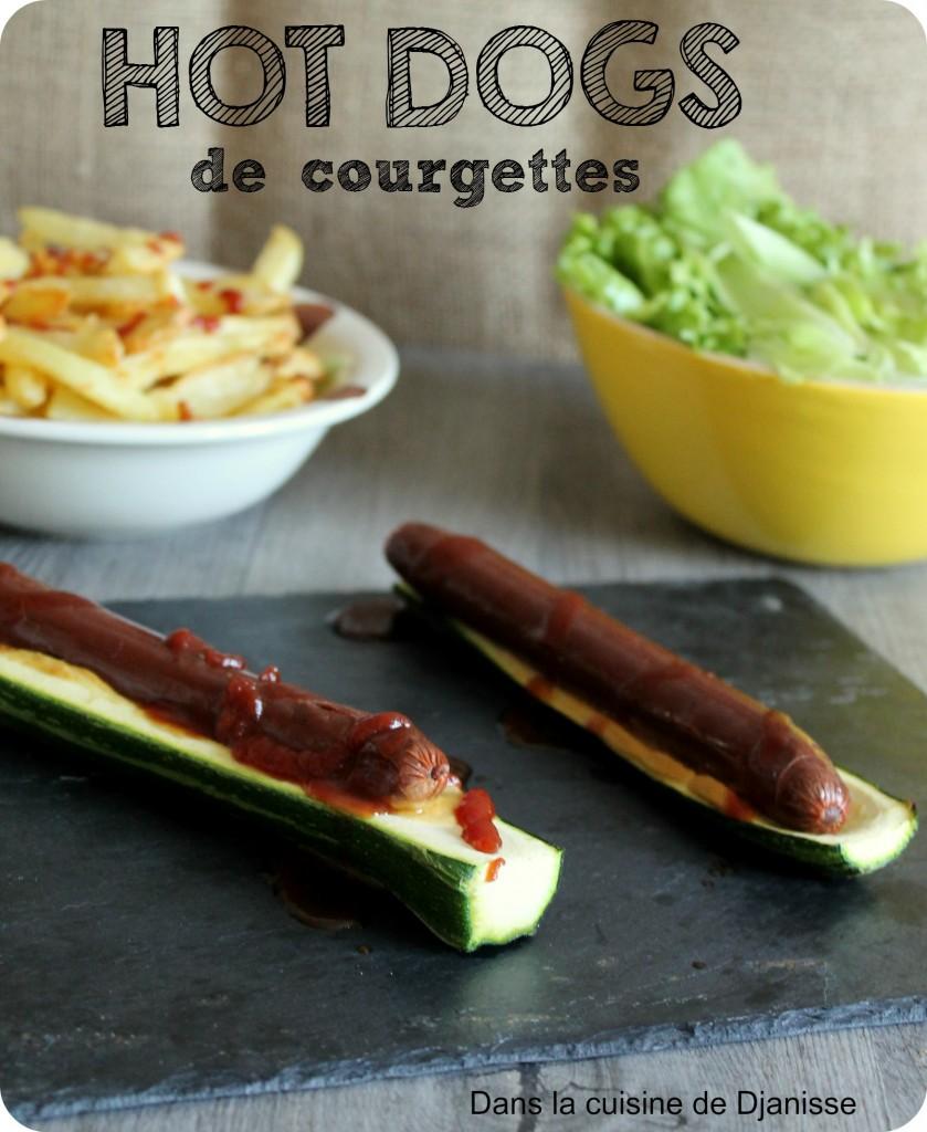 zucchini vegan hot dogs