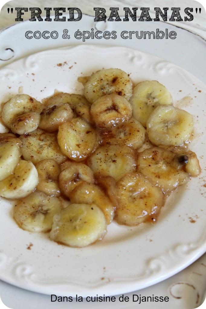 Bananes poêlées