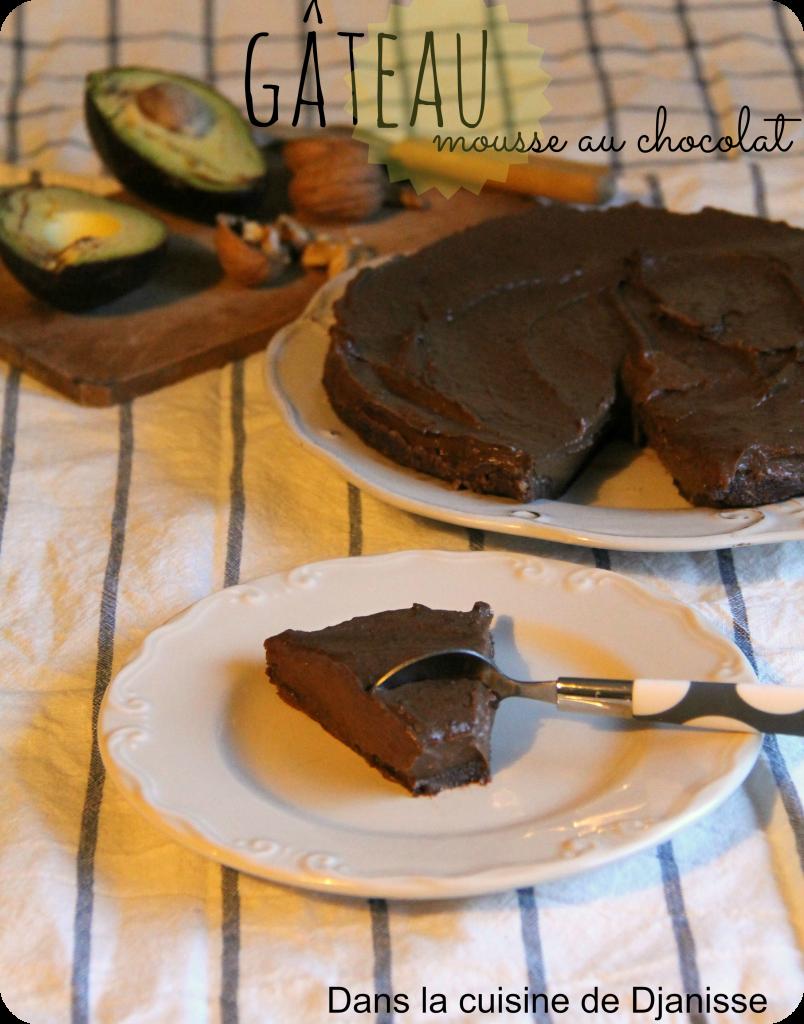 gâteau cru chocolat végétalien