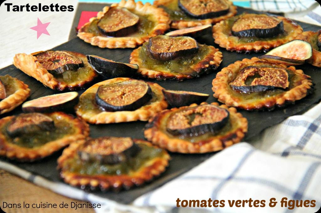 Mini tartelettes tomates figues