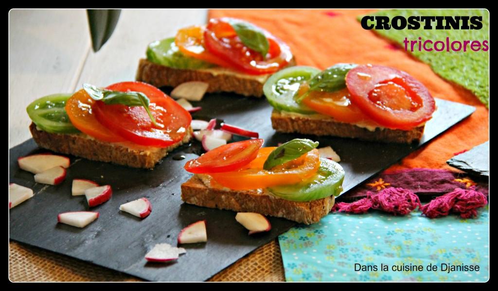 Crostinis tricolores