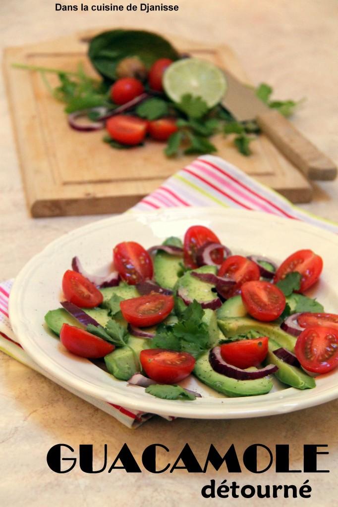 guacamole en salade