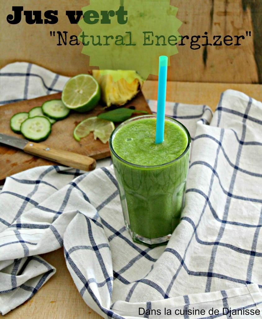 jus vert Natural Energizer