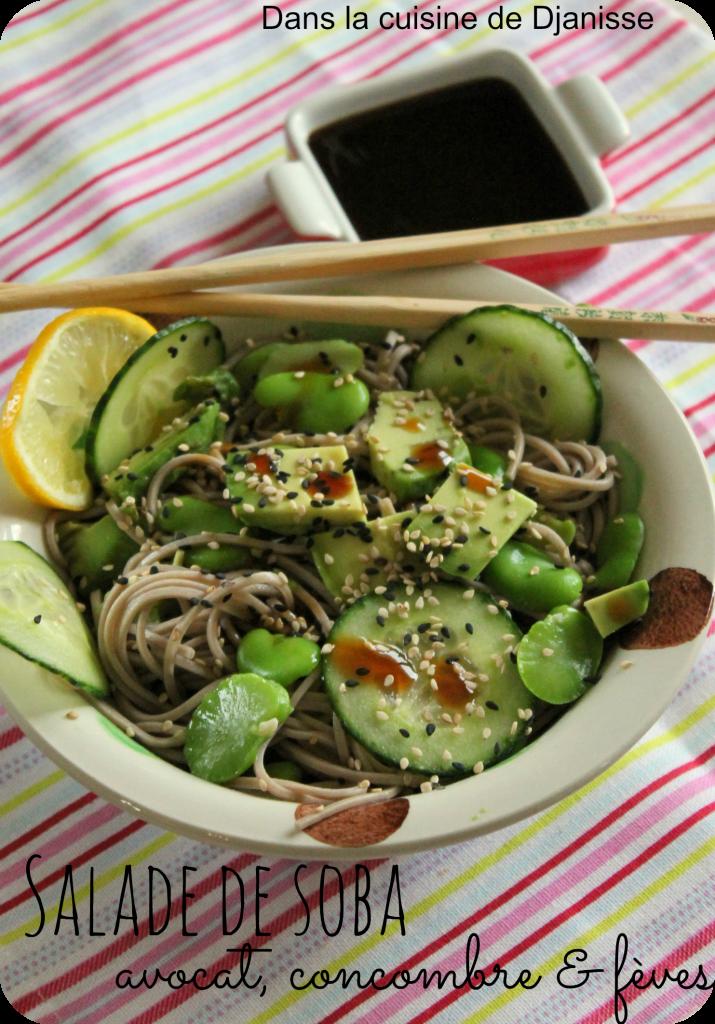 Salade soba