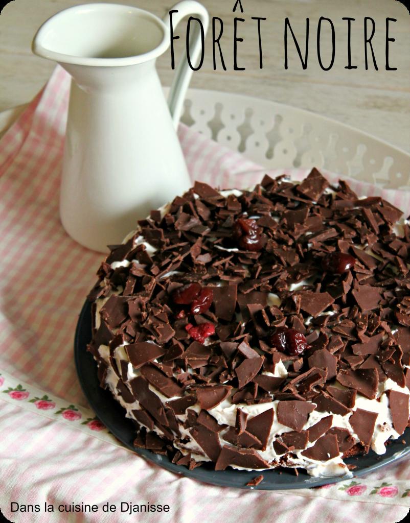 For t noire recette v g talienne sans gluten - Herve cuisine foret noire ...