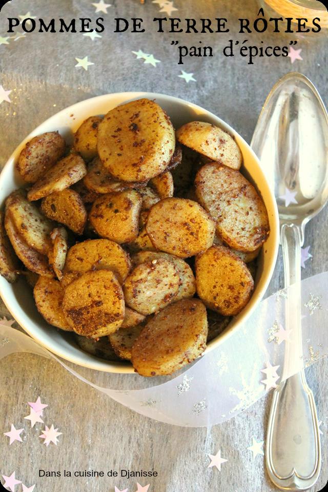 pommes de terre rôties pain d'épices