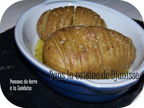 pommes de terre à la suedoise